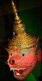 Hanuman Schablone von Thailand Stockbild