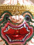 Hanuman Schablone von Thailand Lizenzfreie Stockfotografie