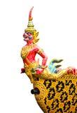Hanuman statue. Hanuman is the animal in Thai literature Stock Photography