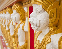 Hanuman Statue. Stockbild