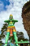 Hanuman statue Hindu god Batu Caves's Kuala Lumpur Malaysia. Royalty Free Stock Images