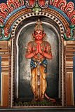 Hanuman statue in Hindu Temple Royalty Free Stock Image