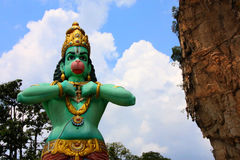 Hanuman statue stock photos