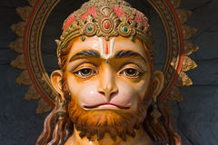 Hanuman statue in India Stock Photography