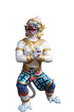 Hanuman statue  on white background. Hanuman statue at Bangkok,Thailand Royalty Free Stock Photos
