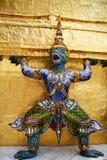 Hanuman staty Arkivfoto