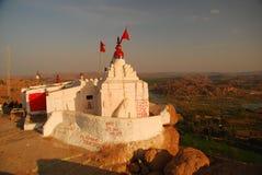 Hanuman Tempel, Hampi, Karnataka, Indien Stockbilder