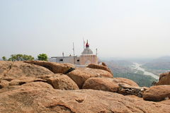 Hanuman Temple bei Hampi, Indien Stockbilder