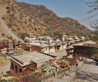 Hanuman Temple - Jaipur - Índia fotografia de stock