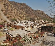 Hanuman Temple - Jaipur - India Stock Fotografie