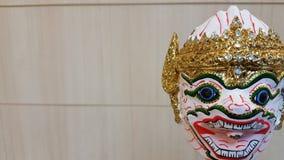 Hanuman Thai puppet. Art doll Thai culture, cute monkey Royalty Free Stock Photos