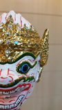 Hanuman Thai puppet. Art doll Thai culture, cute monkey Royalty Free Stock Photo
