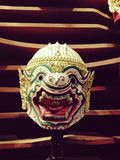 Hanuman thailand khon classic thai dance Royalty Free Stock Image