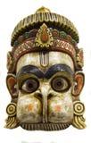 Hanuman, a traditional Nepalese mask. Hanuman, a traditional Nepalese wall mask of wood. A fine example of ethnic art stock photos