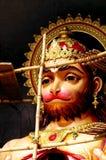 Hanuman under construction Royalty Free Stock Photos