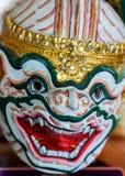 Hanuman the Warrior. Thailand royalty free stock images