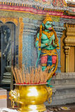 Hanuman's statue. Sri Krishnan Temple, Singapore Royalty Free Stock Photos