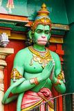 Hanuman's statue. Sri Krishnan Temple, Singapore Stock Images