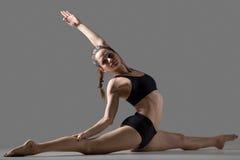 Hanumanasana yoga pose Royalty Free Stock Photo