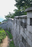 HanyangDoseong, τοίχος πόλεων της Σεούλ Στοκ Εικόνες