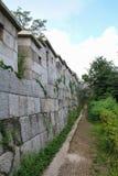 HanyangDoseong, τοίχος πόλεων της Σεούλ Στοκ Φωτογραφίες