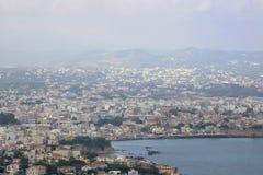Hanye ö av Kreta, Grekland Fotografering för Bildbyråer