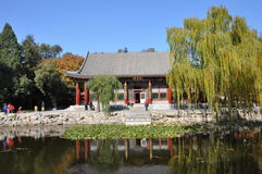 Hanyuan Hall in the Garden of Harmonious Interest Stock Photography