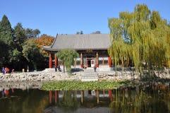 Hanyuan Hall i trädgården av harmoniskt intresse arkivbild