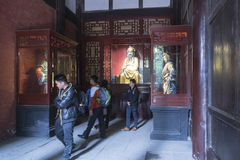 Hanzhaolei temple Royalty Free Stock Photos