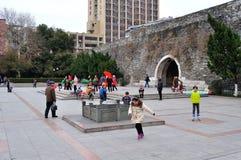 Hanzhong Gate Plaza Stock Photos