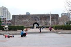 Hanzhong Gate Plaza Royalty Free Stock Image