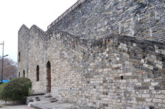 Hanzhoung city walls Royalty Free Stock Images