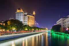 Haohe River at night Stock Photo