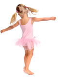 Haopy dancing girl Stock Image
