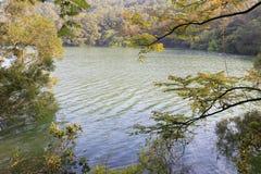 Haoyue ( bright moon ) lake in spring Royalty Free Stock Photo