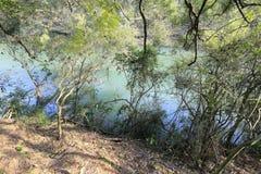 Haoyue lake in spring Royalty Free Stock Photo