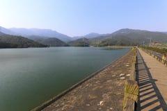 Haoyuehu ( bright moon lake ) Stock Photo