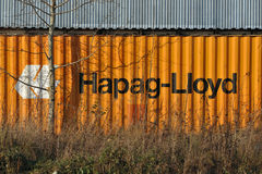 Hapag Lloyd zbiornik Zdjęcie Stock