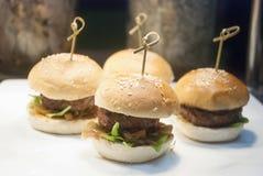 Hapburger Стоковое Изображение RF
