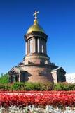 Сhapel in honour of Saint Petersburg Stock Photo