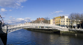 Hapenny Bridge Stock Photos