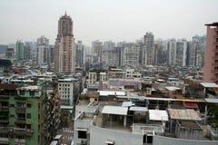 Haphazard Development. In an area in downtown Macau Royalty Free Stock Photos