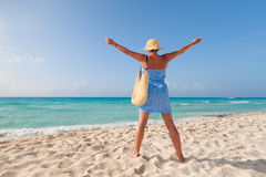 Hapiness on holidays Royalty Free Stock Photography
