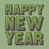 Happ new year 15 Stock Image