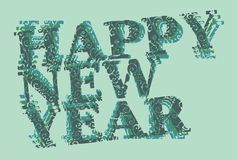 Happ new year 17 Stock Images