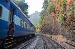 An Indian train stock photo