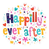 Happily ever after Royalty Free Stock Photo