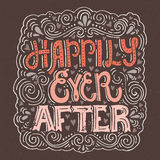 Happily ever after Stock Images