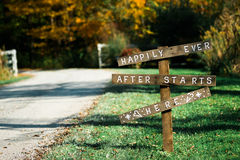 Happily Ever After Royalty Free Stock Images