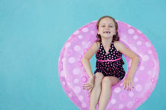 Happily Floating Stock Images